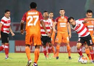 Madura United vs Borneo FC Imbang 1-1 #Liga1