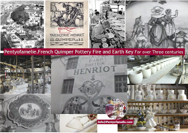 Quimper factory. For over Three centuries production of earthenware, Quimper Faience made known in all over the world the name of Brittany and Quimper. You probably know a lot about Quimper faiencerie. In this article, you may learn a bit more.
