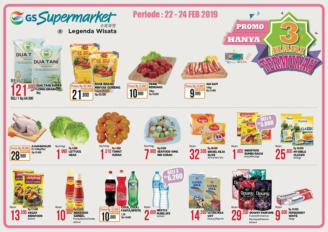 #GSSupermarket - #Promo #Katalog JSM Periode 22 - 24 Februari 2019