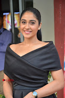 Actress Regina Candra Pos in Beautiful Black Short Dress at Saravanan Irukka Bayamaen Tamil Movie Press Meet  0010.jpg