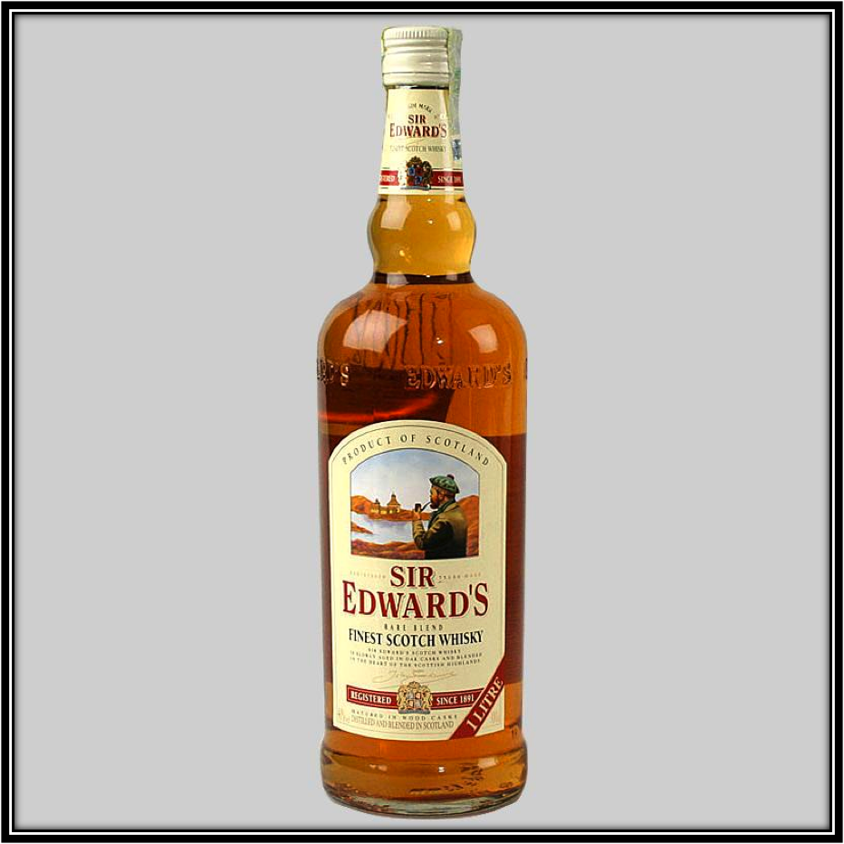 Sir Edward's Blended Scotch Review. ""
