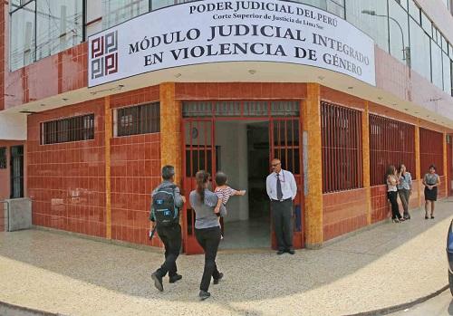 Módulo Judicial Integral en Violencia de Género
