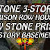 Shroud Of The Avatar • Stone 3-Story Prison Row House & Row Stone Prison 2-Story Basement