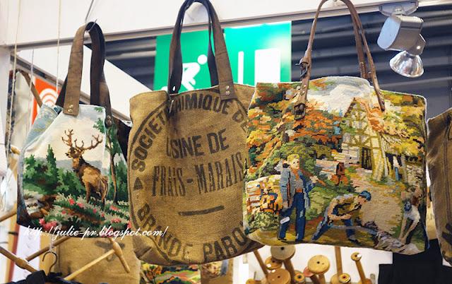 Париж, рукодельный салон Creations & savoir-faire-2015, porte de versailles, вышивка крестом