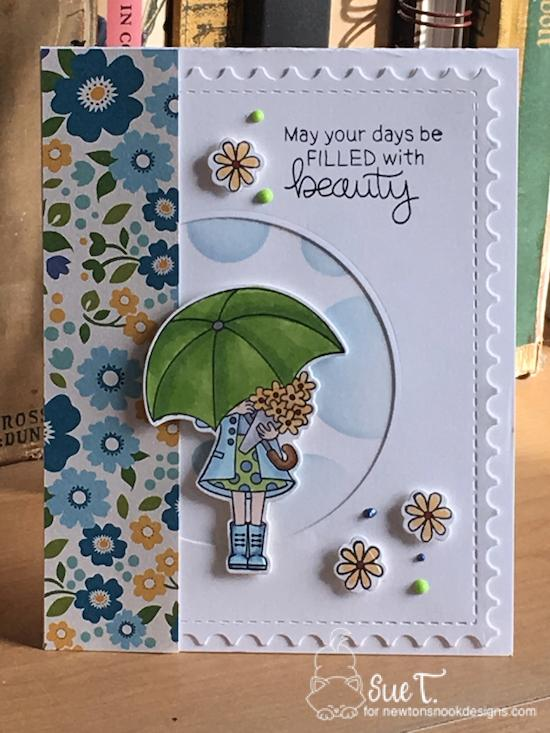 May you days be filled with beauty by Sue features Loads of Bloom and Framework by Newton's Nook Designs; #newtonsnook