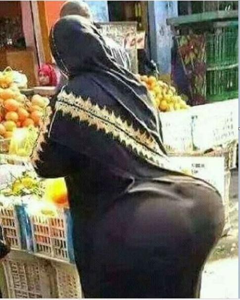 Arab women booty