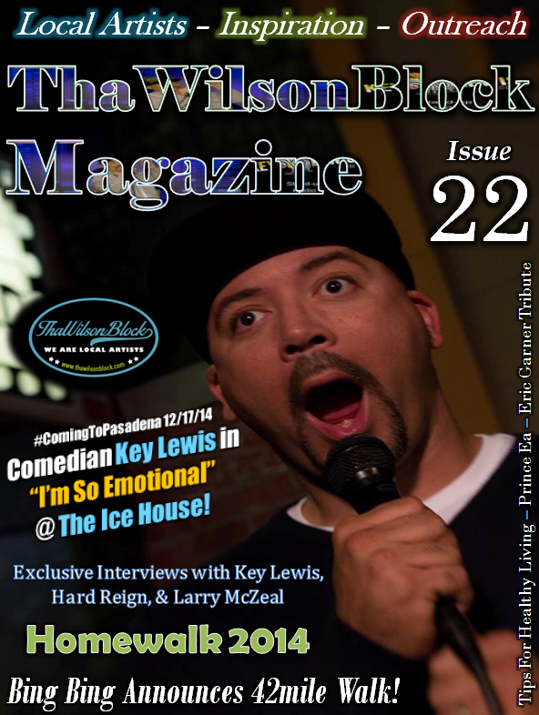 "ThaWilsonBlock Magazine Issue22 ""Key Lewis @ The Ice House"""