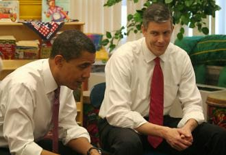 The absolute worst education President, and Secretary of Education in U.S. history: Barack Obama and Arne Duncan