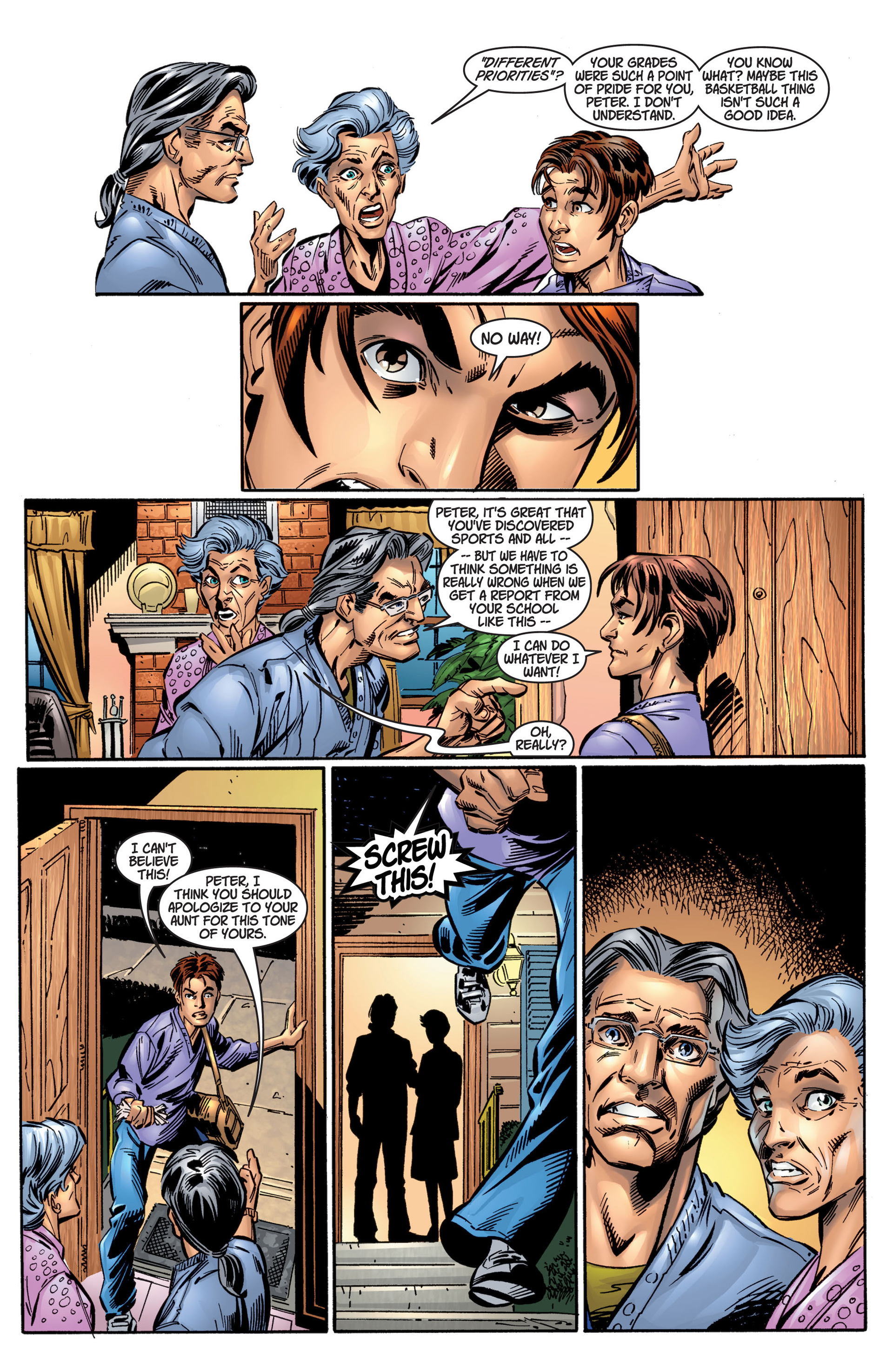 Read online Ultimate Spider-Man (2000) comic -  Issue #4 - 12