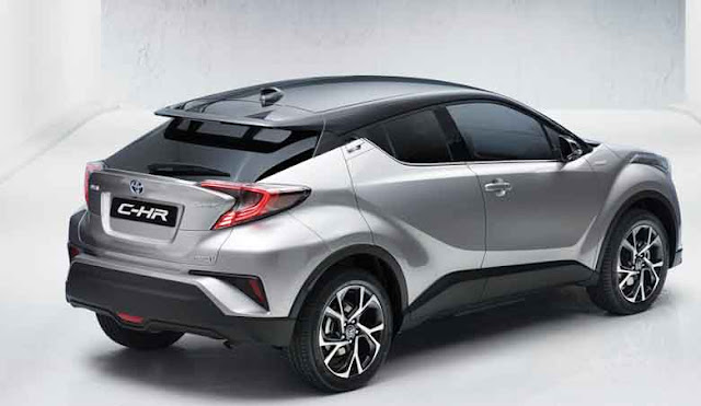 Toyota C-HR crossover rear