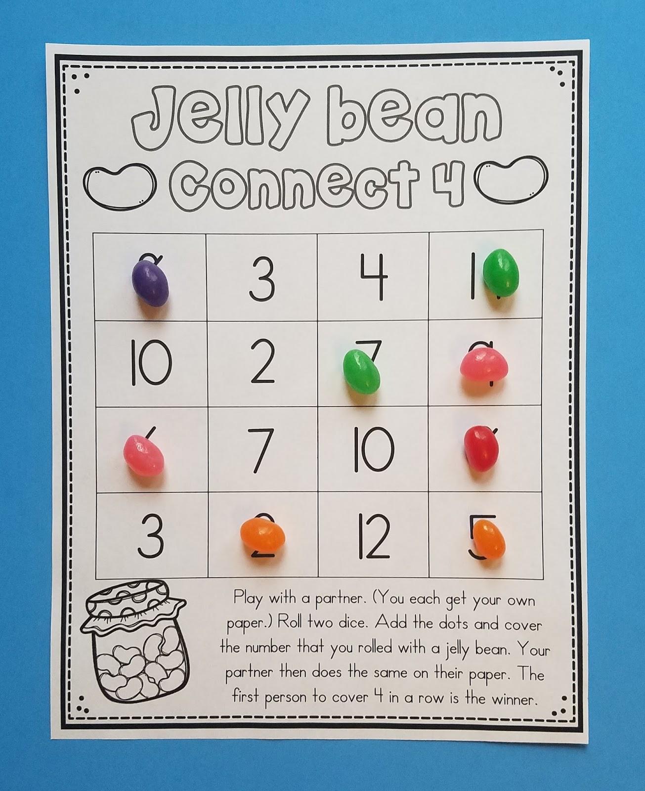 Jelly Bean Row >> 10 Jelly Bean Math Activities | Mrs. McGinnis' Little Zizzers