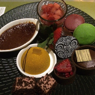 Club 55, Marina Bay Sands Hotel, chocolate and cheese buffet