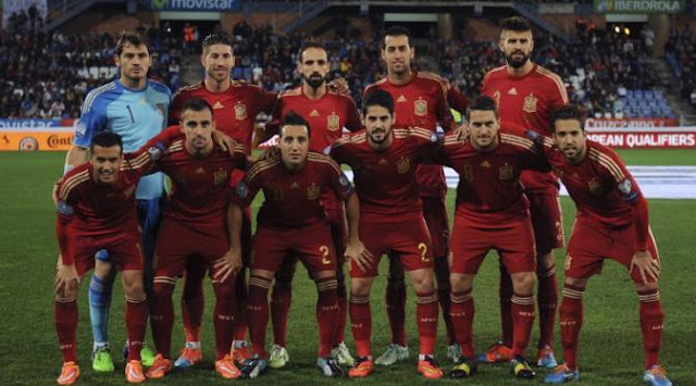 Skuad Resmi EURO 2016 Spanyol