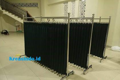 Jasa Hijab Masjid Stainless di Aceh berkualitas Premium