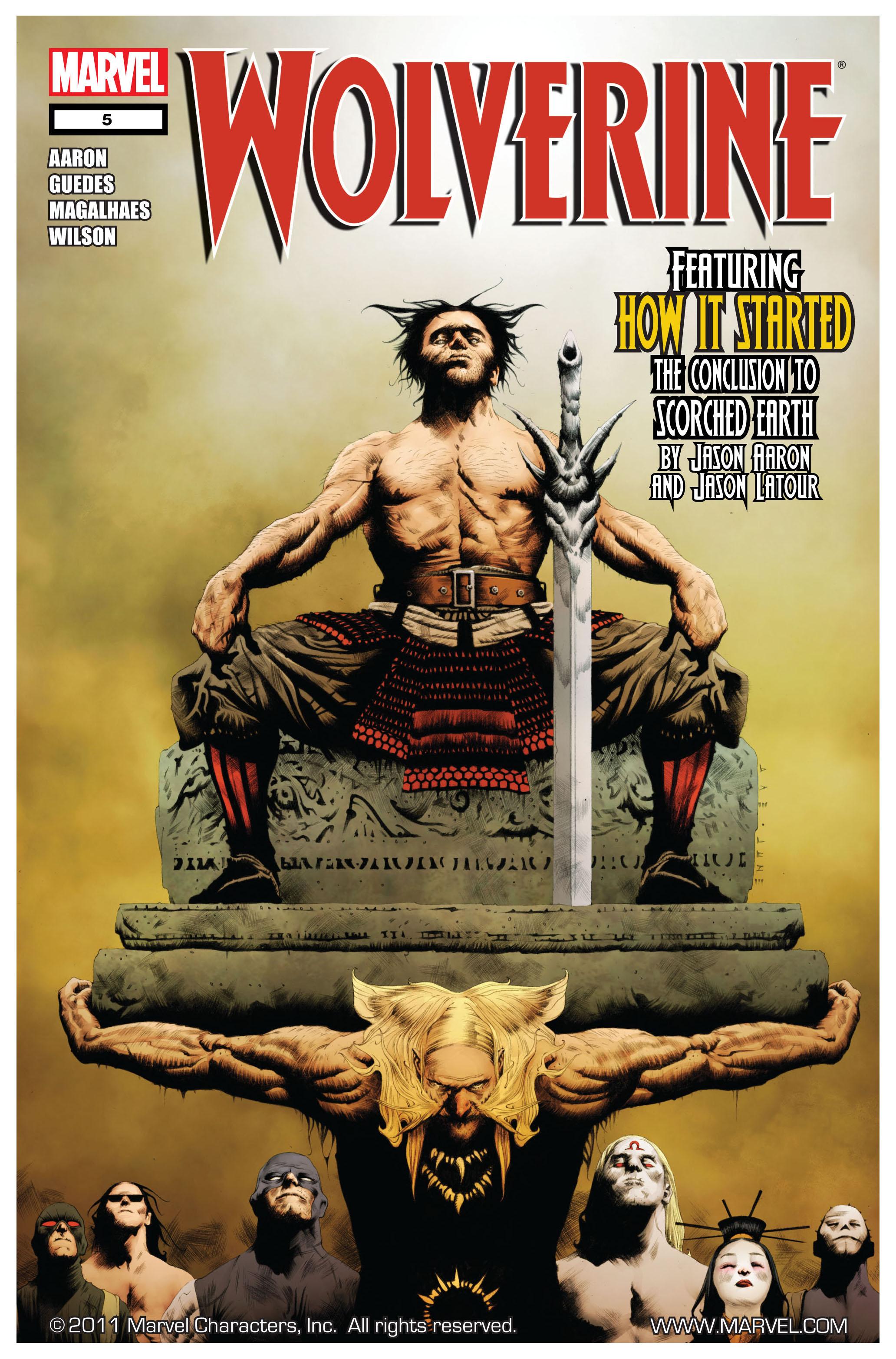 Wolverine (2010) 5 Page 1