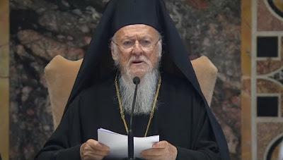Αποτέλεσμα εικόνας για Ὁ Πατριάρχης Βαρθολομαῖος