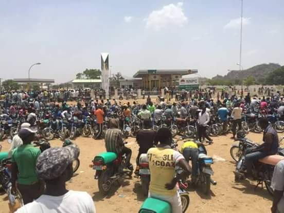 Bauchi state Fuel situation today. photos i