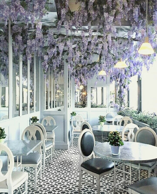 Wisteria Cafe Aubaine Selfridges London