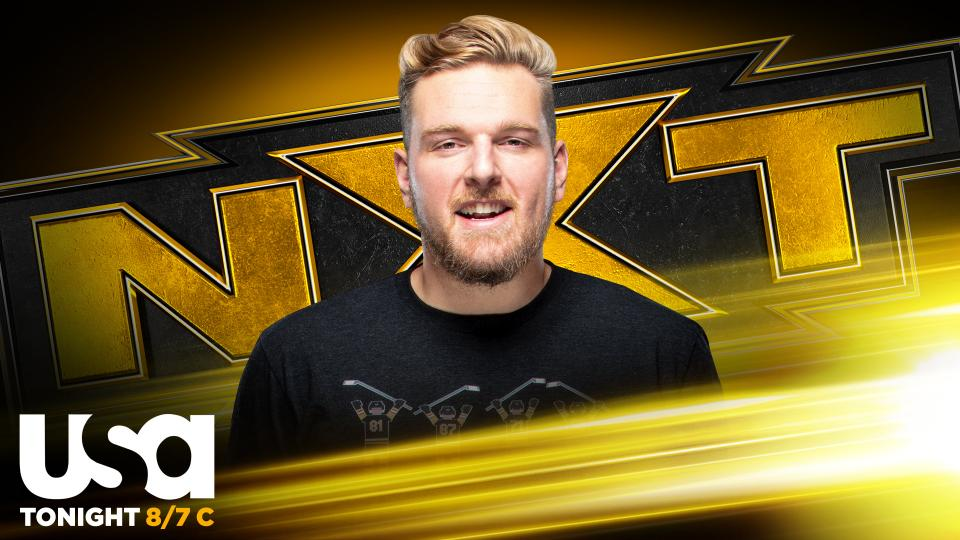Pat McAfee Attacks Adam Cole on NXT