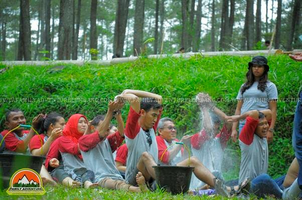 outbound bandung family gathering fun game offroad