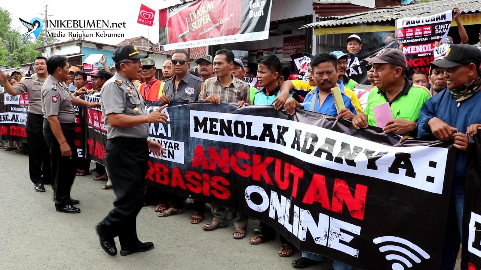 Transportasi Online Dilarang Beroperasi di Karanganyar