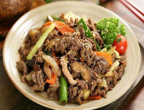 Nấm linh chi xào thịt bò vừa ngon vừa bổ