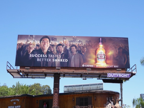 Javier Bardem Chivas Regal billboard
