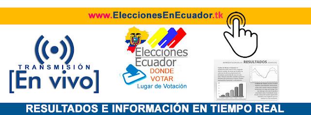 Elecciones 2017 Ecuador en vivo por internet CNE Segunda Vuelta