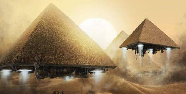 antik piramitler