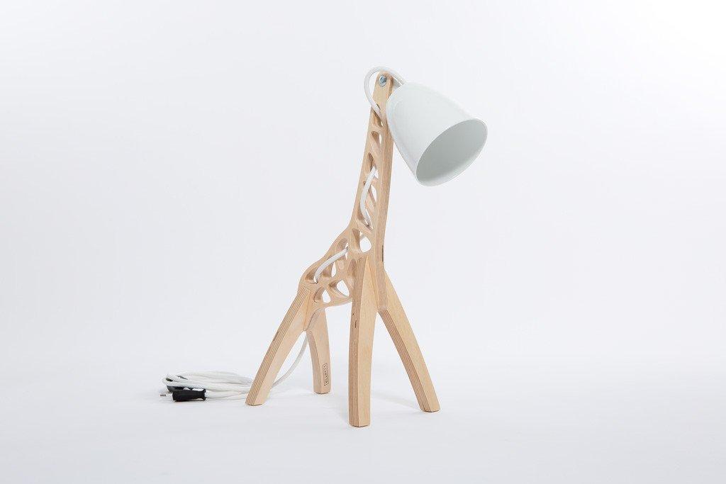 lampa jak żyrafa