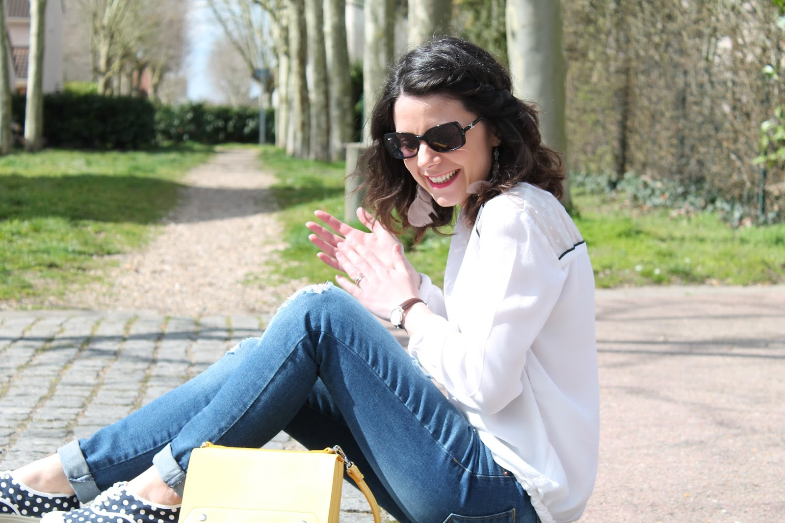 les gommettes de melo blog blogueuse 2017 blogspot blogger french youtube youtubeuse vidéo look lookbook tenue outfit of the day ootd shooting mode fashion zara etam kiabi bensimon