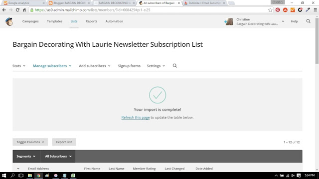Creating a Mailchimp Newsletter