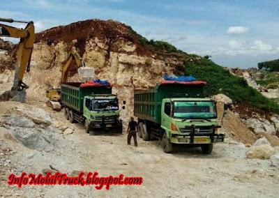 Hino lohan dump truk tangguh