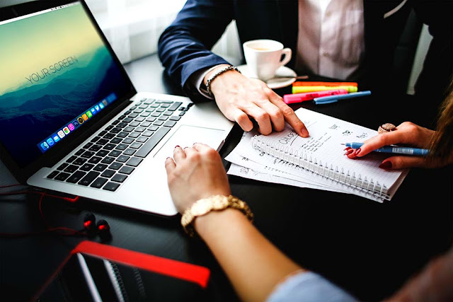 Macbook Pro Office Mockups PSD