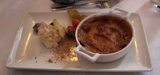 Tiramisu for dessert
