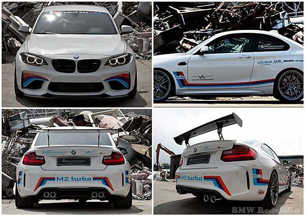 BMW M2 tuning performance F87 with 420 HP
