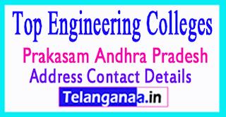 Engineering Colleges In Prakasam District Andhra Pradesh