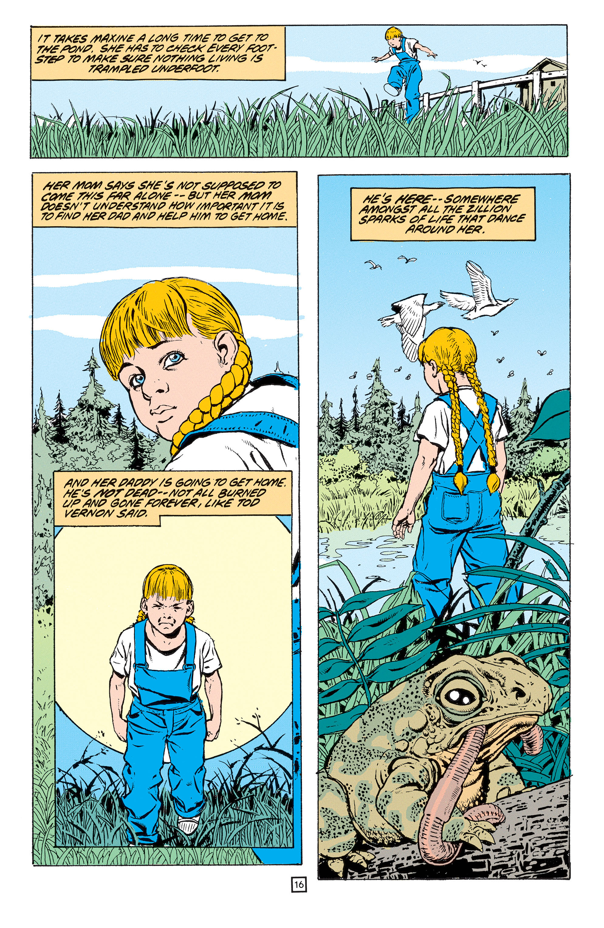 Read online Animal Man (1988) comic -  Issue #53 - 17