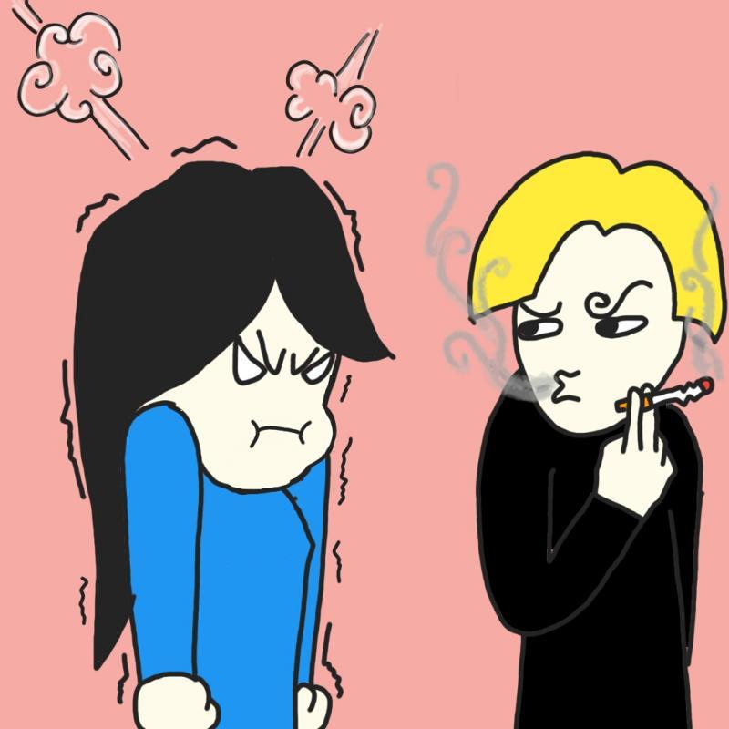 "Baca komik ""Sebatang Rokok"" oleh DHOCNET Comicstrip ~ webcomic"
