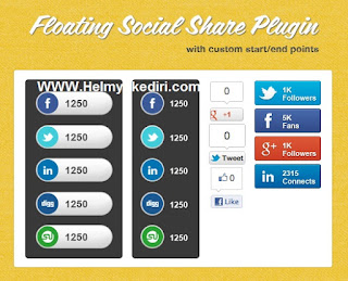 Membuat Floating Box Like dan Share diBlogger1
