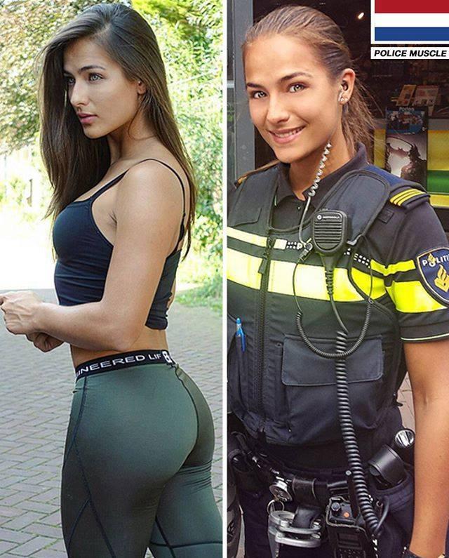 hot british police women