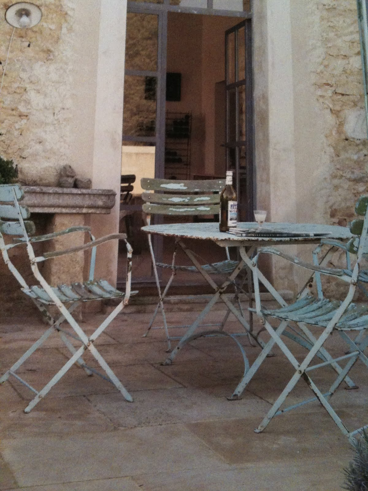 Antique French Bistro Table And Chairs Gaming Uk Shabby From Kmart Country Cottage