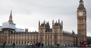 Gambar Gedung Parlemen Tua, London, Inggris