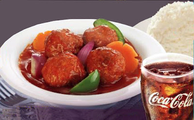 Sweet and Sour Meatballs At Goldilocks