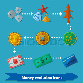 perkembangan uang sebagai alat tukar dari masa ke masa