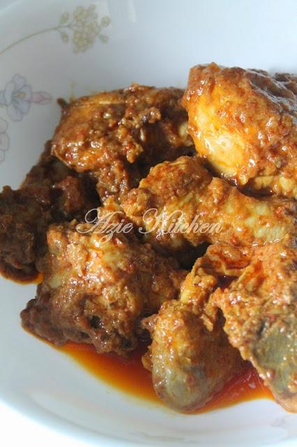 Rendang Ayam Yang Sedap dan Tahan Lama