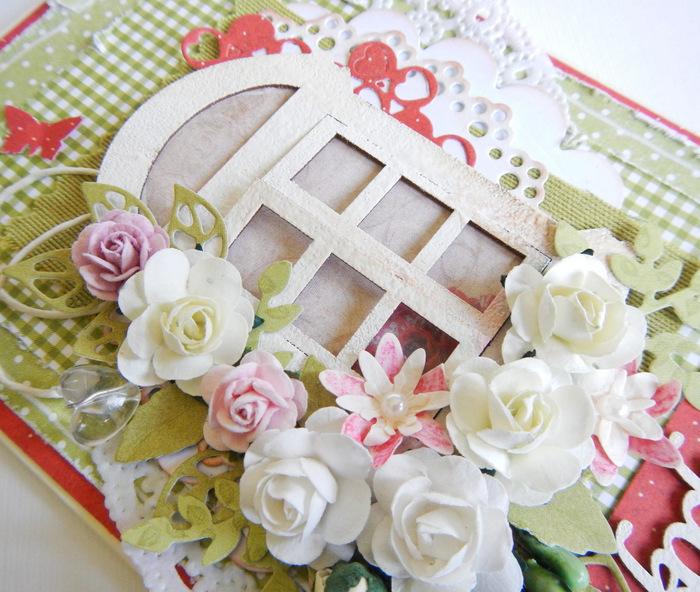 Kartka ręcznie robiona na Dzień Mamy