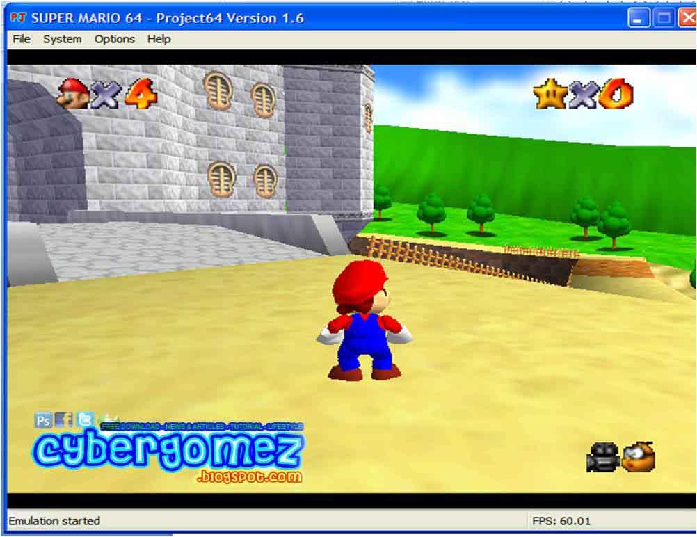 Emulator Game 64