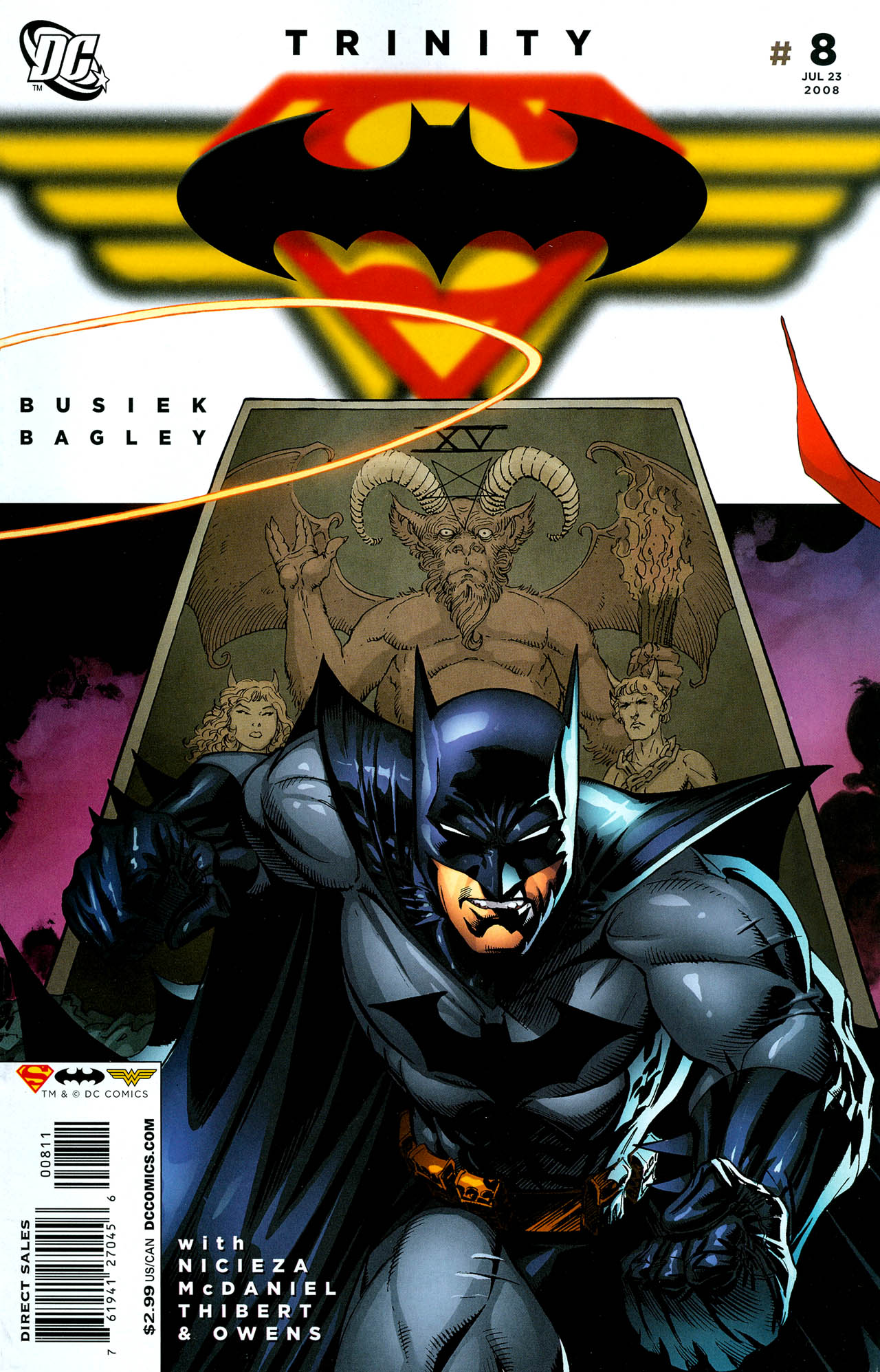 Read online Trinity (2008) comic -  Issue #8 - 1