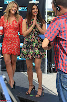 Priyanka Chopra looks super cute in happy mood wearing a short flower print dress in Hollywood 011.jpg